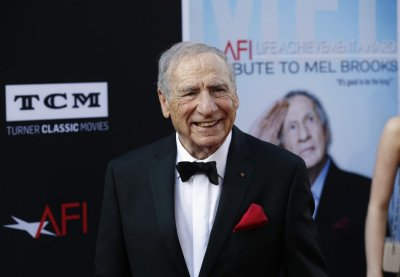 Producer and honoree Mel Brooks poses at the American Film Institutes 41st Life Achievement Award Gala at the Dolby theatre in Hollywood, California June 6, 2013.