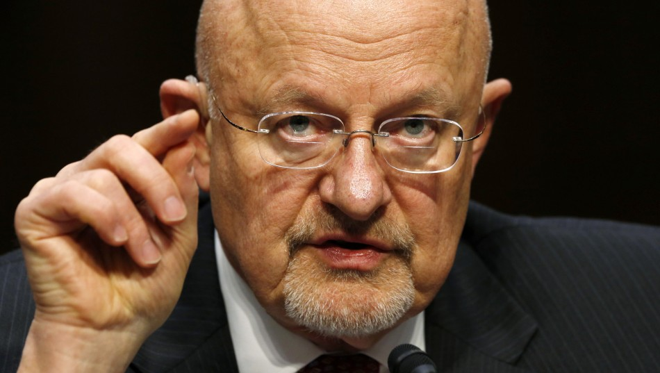 James Clapper US Director of National Intelligence
