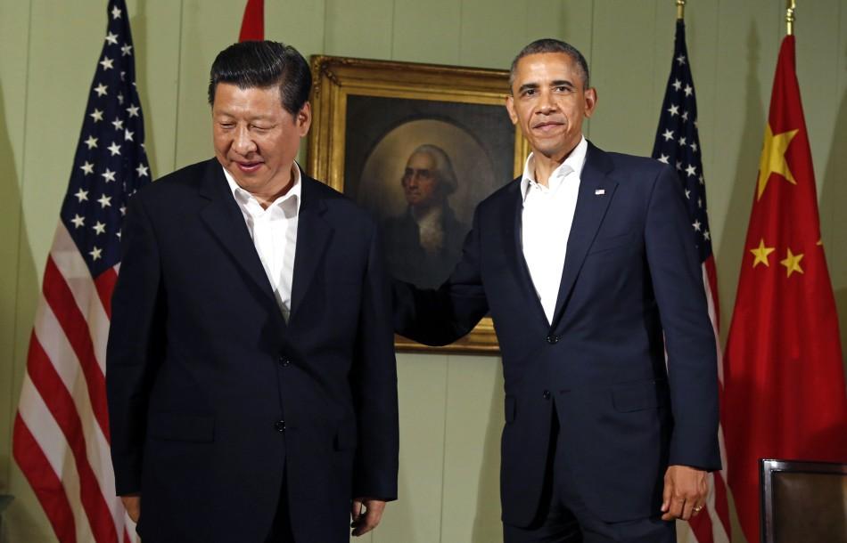 Obama and Xi Jinping