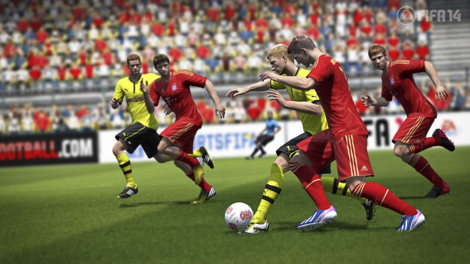 FIFA 14 (Courtesy: www.ea.com/uk/football/fifa14)
