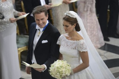 Princess Madeleine weds Christopher ONeill in Stockholm today