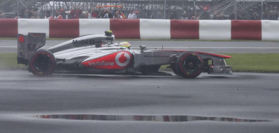 Sergio Perez [McLaren-Mercedes]