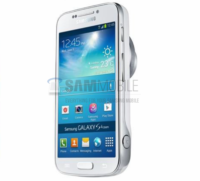 Samsung Galaxy S4 Zoom (Courtesy: sammobile.com)