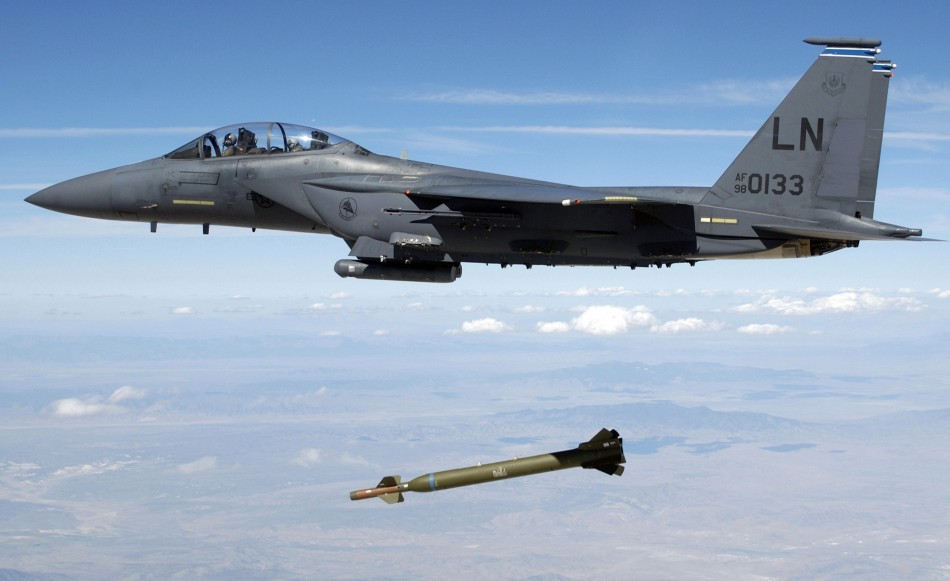 US jet releases precurser of the GBU-57B.