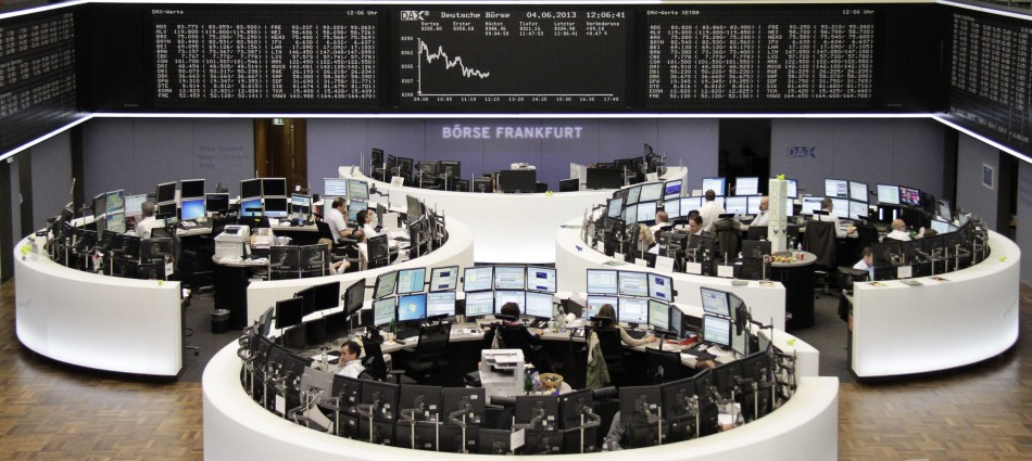 European equities open lower