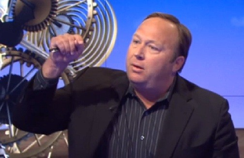 Alex Jones sets forth web of conspiracies