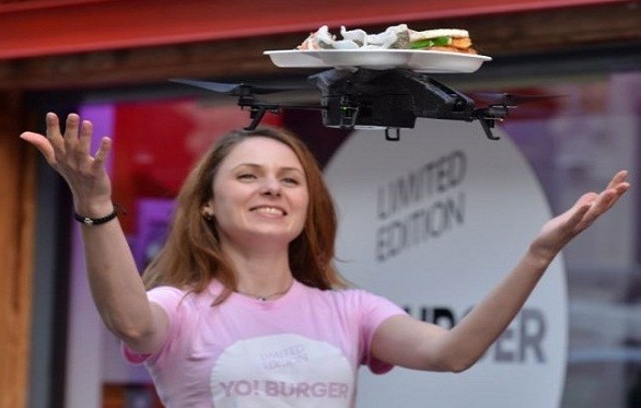 YO! Sushi  is using drones as waiters in London