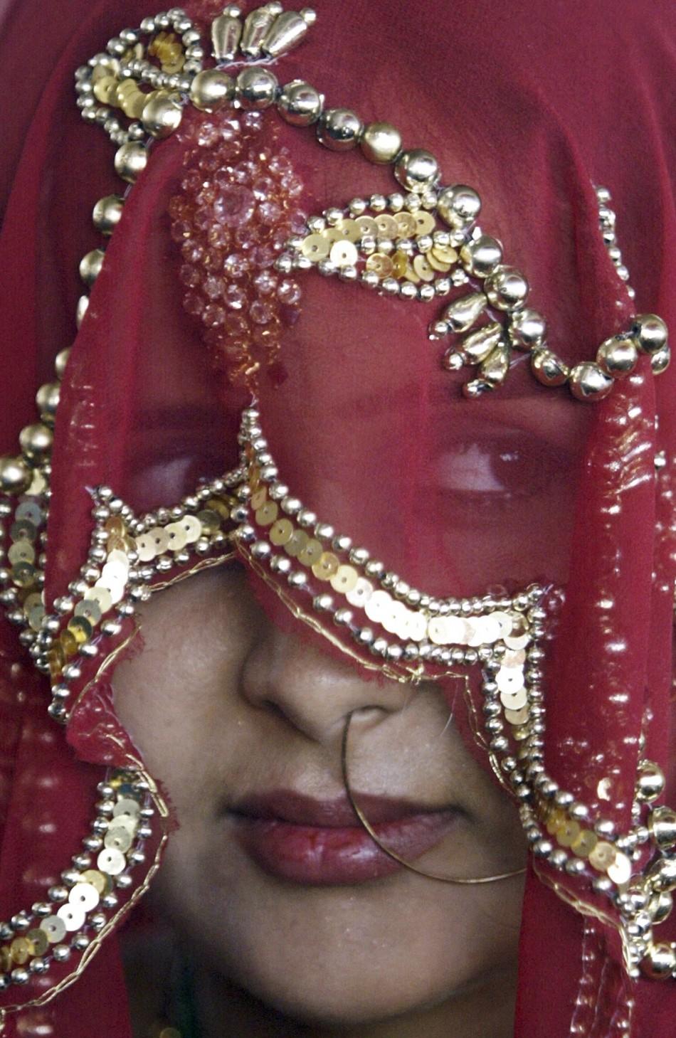 Bride in Madhya Pradesh