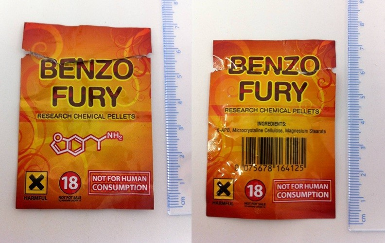 The drug Benzo Fury was retailed online as research chemical pellets