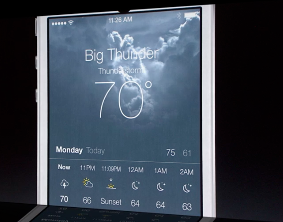 iOS 7 Weather App