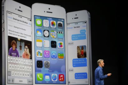 Apple unveils iOS 7