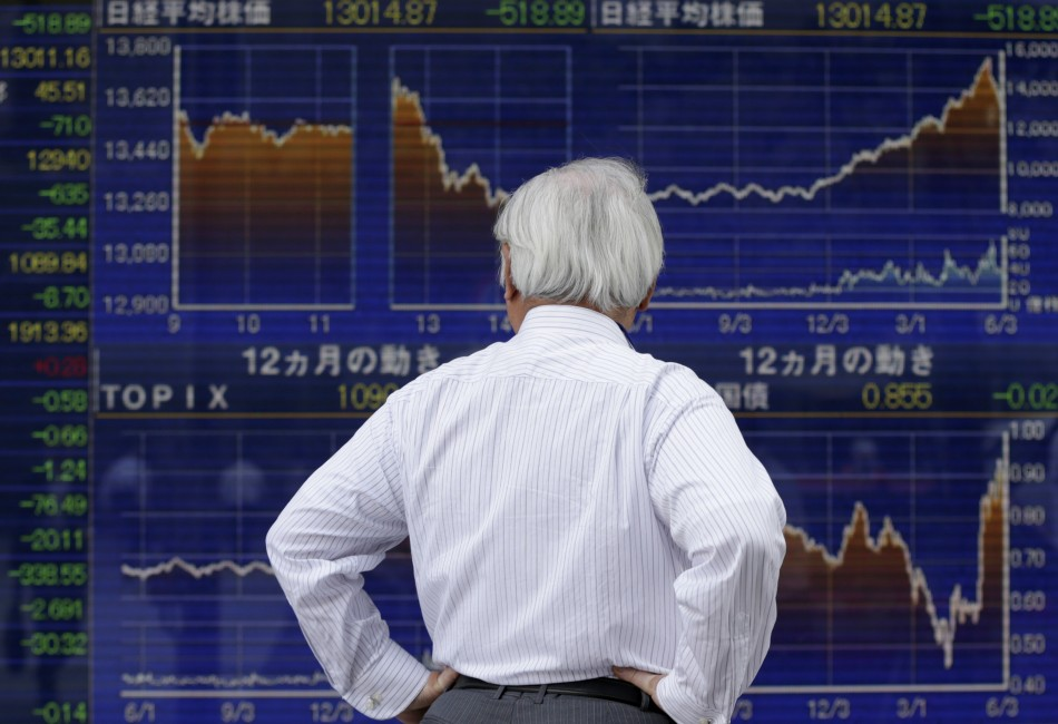 Asian equities open lower