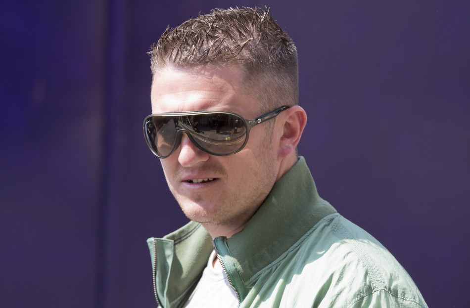 EDL leader, Tommy Robinson