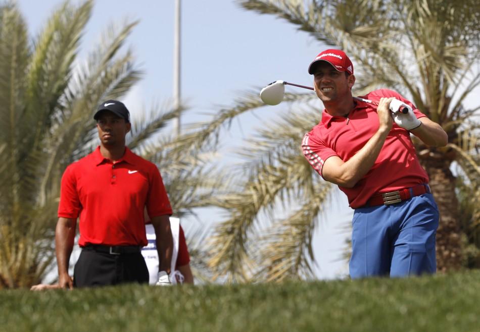 Tiger Woods & Sergio Garcia