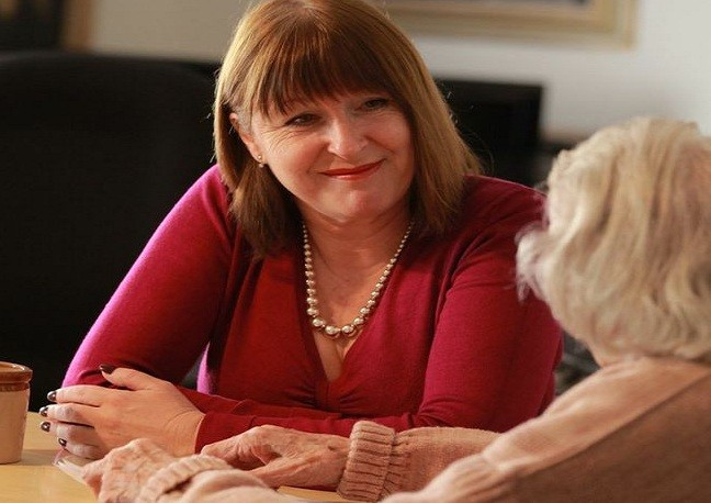 Admiral nurses are there for dementia sufferers and their carers