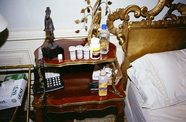 Michael Jackson bedroom