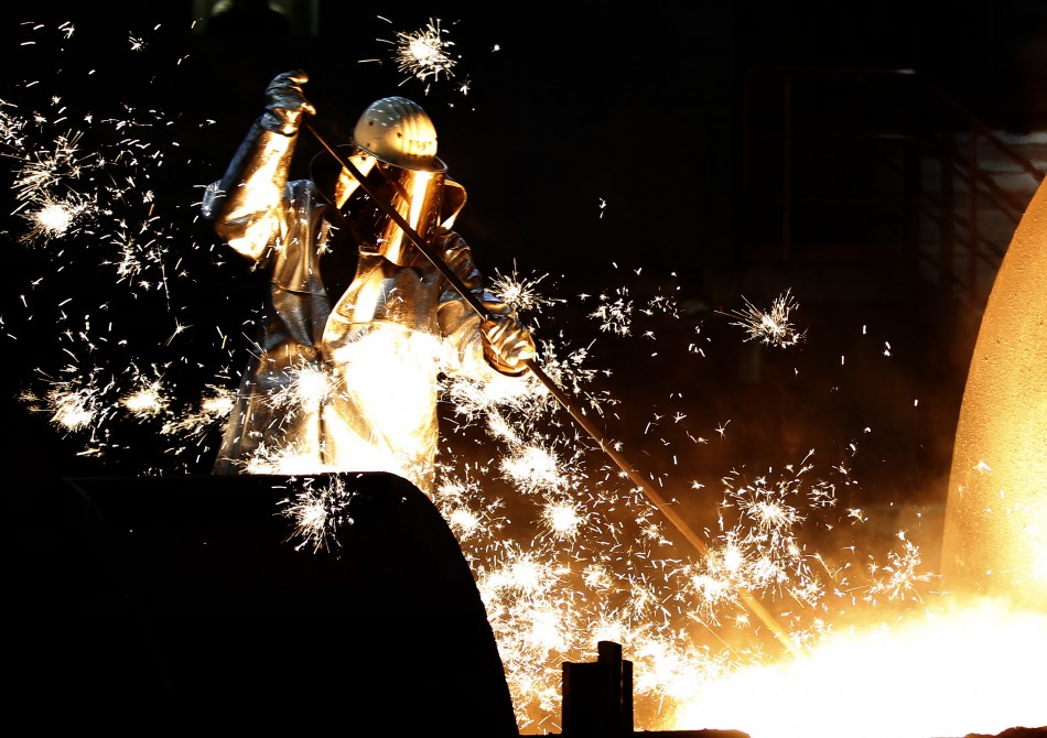 Factory output rises in April