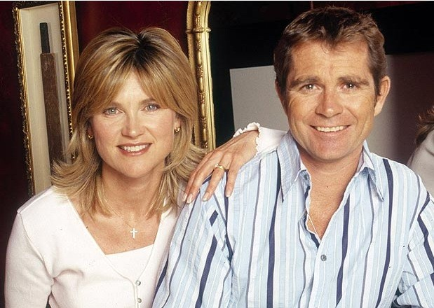 Anthea Turner and Grant Bovey