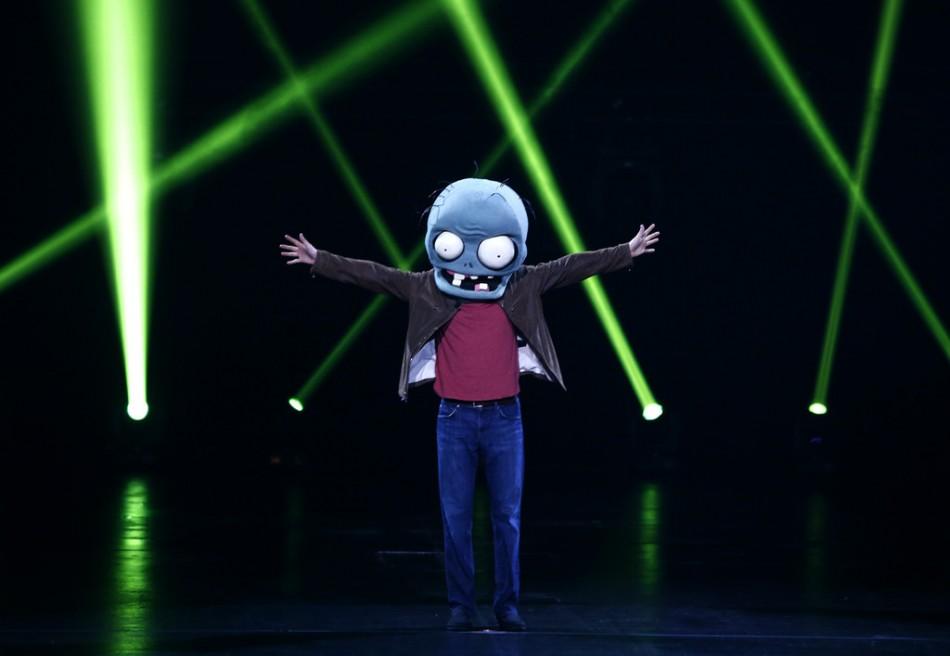 PopCap E3 Plants vs Zombies