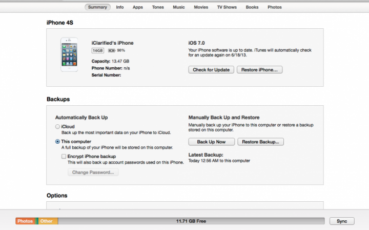 iOS 7 Beta to iOS 6.1.4