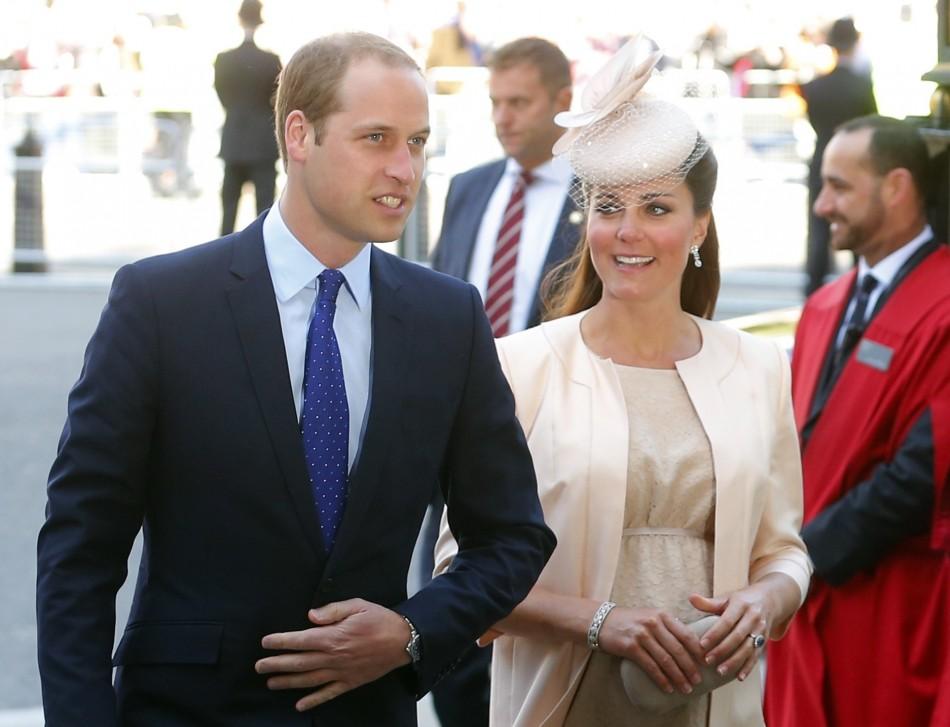 Prince William Duchess Cambridge