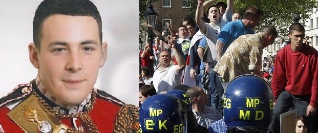 The EDL has staged a series of protests follwoing Lee Rigby's death