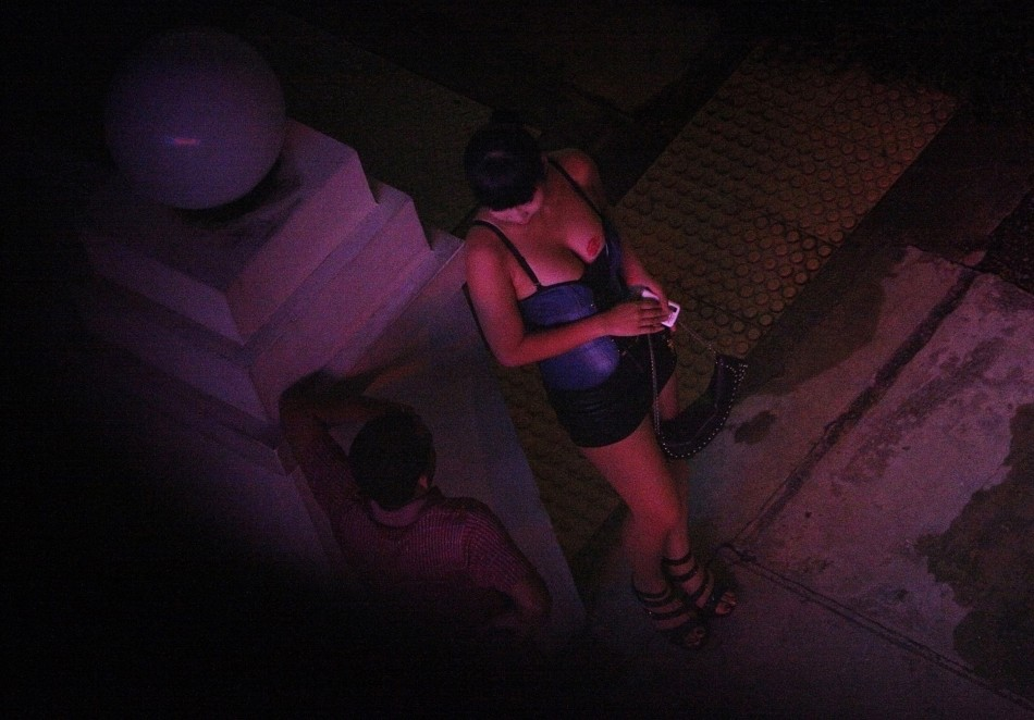 Police were forced to remind the man that soliciting for sex was illegal (Reuters)