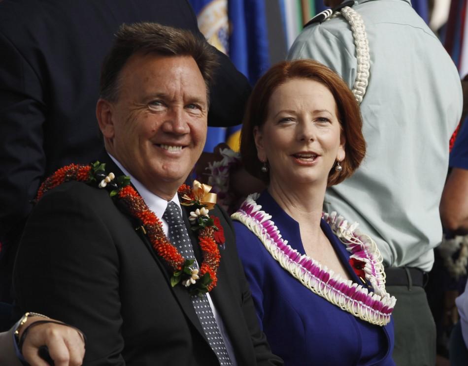 Julia Gillard Tim Mathieson