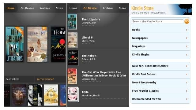 BlackBerry best apps Kindle