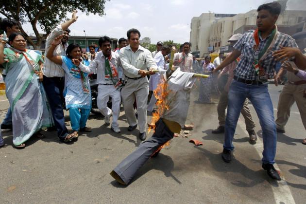 Maoist protest