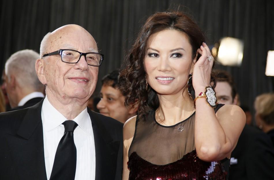 Rupert Murdoch Wendi Deng