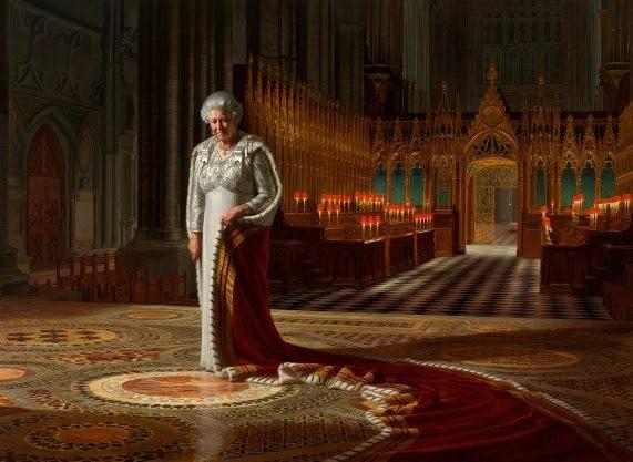 Queen Elizabeth II Portrait