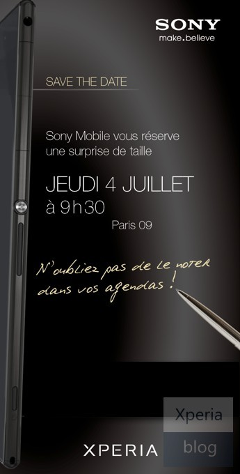 Leaked Sony Invite Reveals Xperia Z Ultra Features, Hints at Release Date