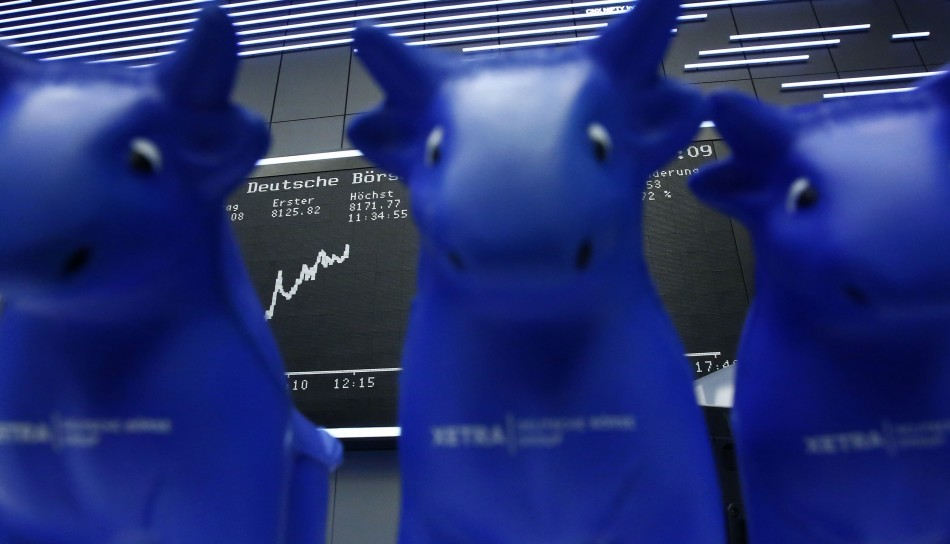 The bulls come out in Europe