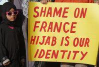 France's Burqa ban law Sparks Violence in Paris