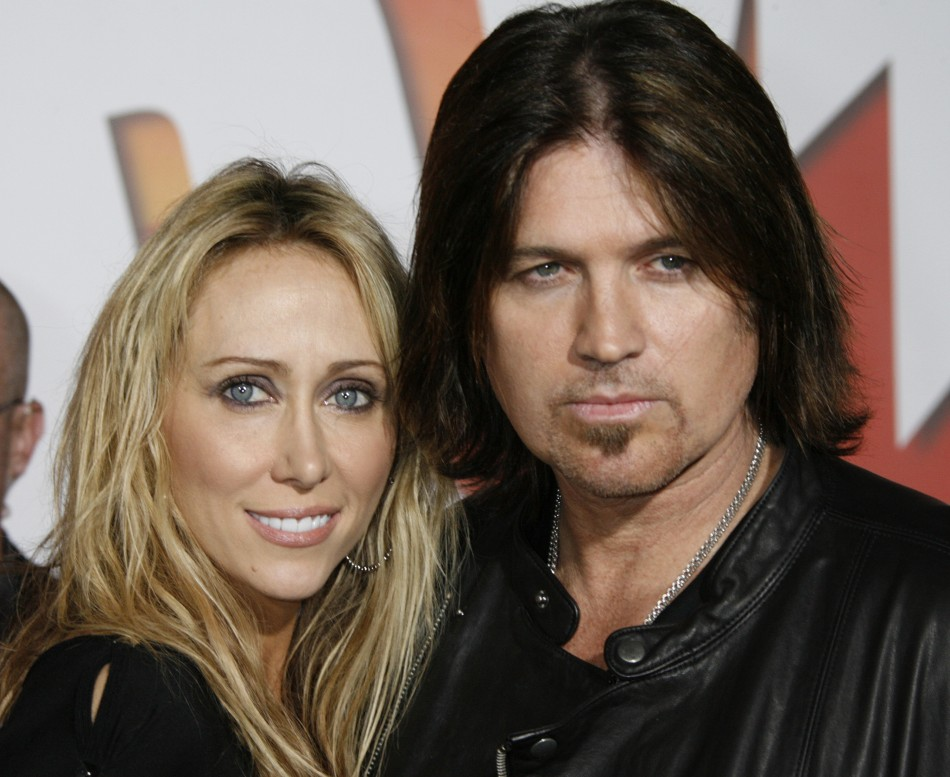 """Bill Ray Cyrus and Leticia """"Tish"""" Cyrus"""