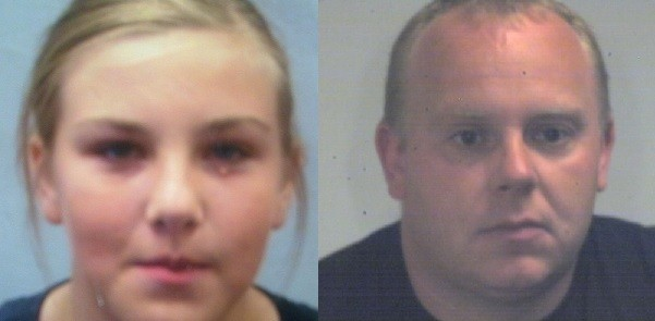 Lorna Vickerage is believed to be with family friend John Bush (South Yorkshire Police)