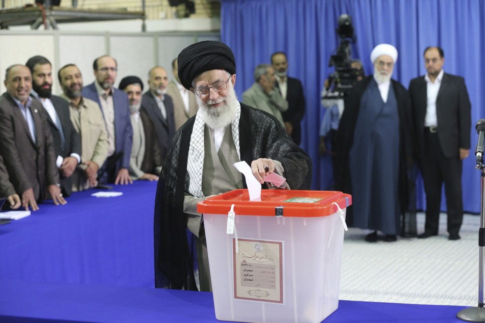 Iranian election: Ayatollah