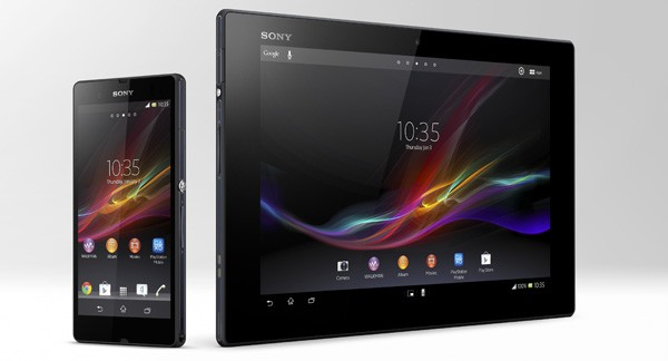 Xperia Tablet Z and Xperia Z smartphone.