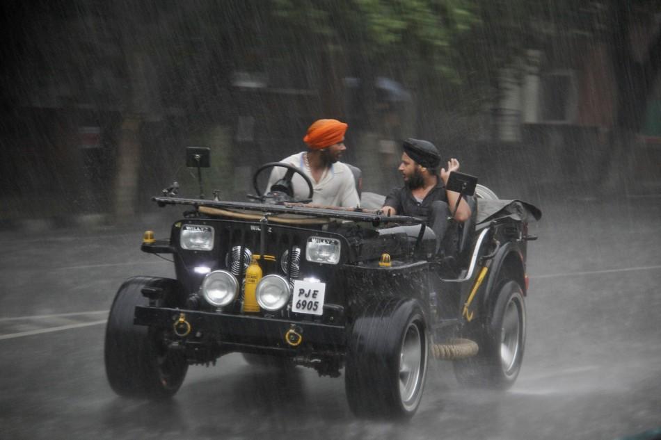 Chandigarh Monsoon Jeep