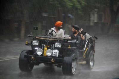 Chandigarh Monsoon Jeep