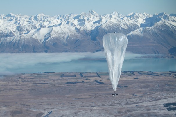 Google launches Project Loon in New Zealand.
