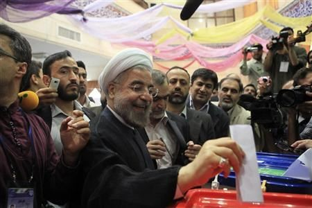 Moderate cleric Hassan Rouhani has won Iran's presidential election