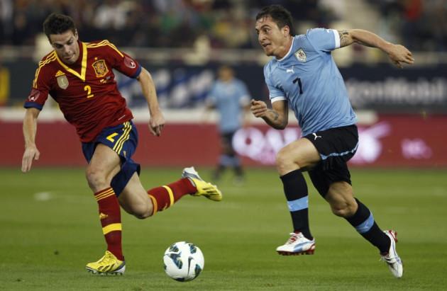 Spain v Uruguay