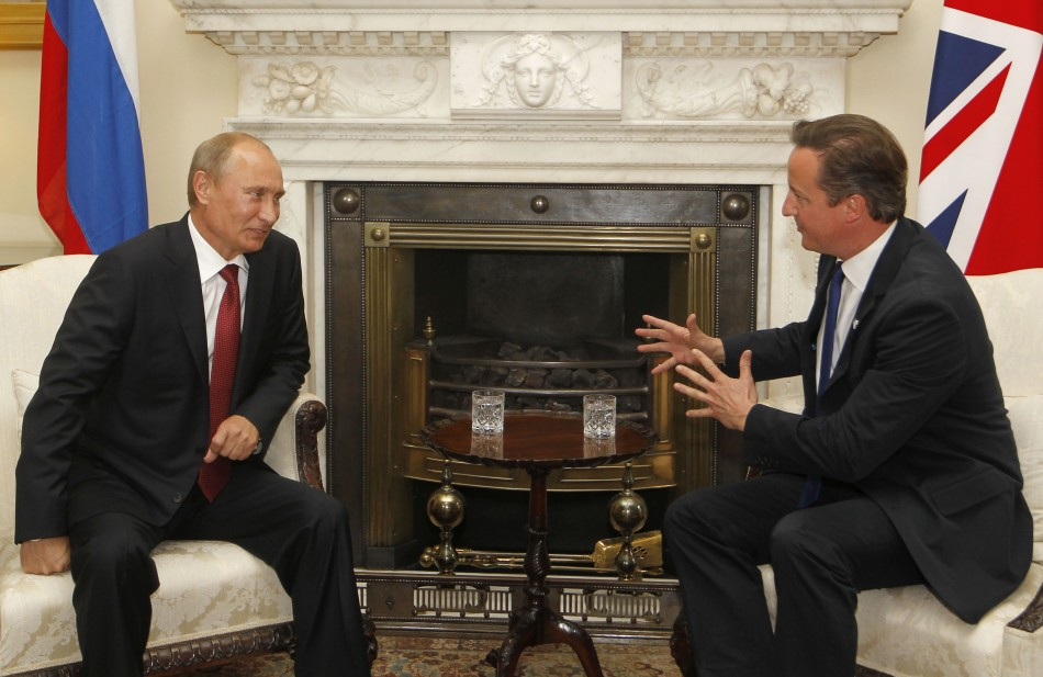 Putin and Cameron are to meet ahead of the G8 summit in Northern Ireland