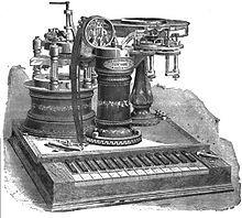 Telegram machine