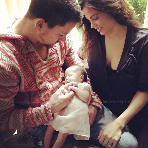 Everly Tatum: Channing Tatum And Jenna Dewan-Tatum Share First Picture Of Their Daughter