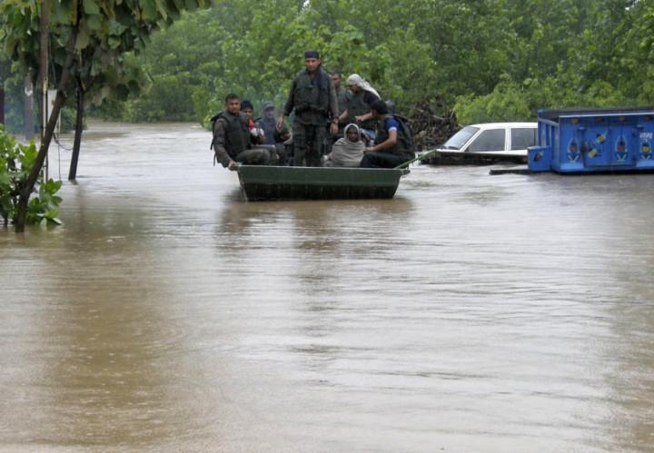 Monsoon rescuers