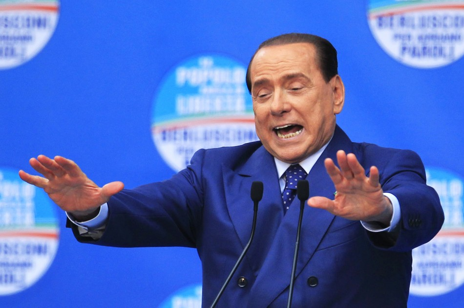 Silvio Berlusconi EU