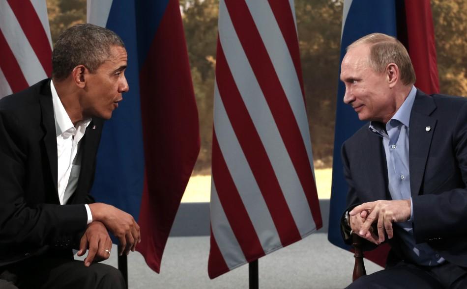 Obama and Putin discuss Syria in G8 summit